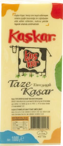 Taze Kaşar Mini Blok (1000g)